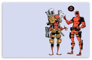 Deadpool And Spiderman by Byo2010