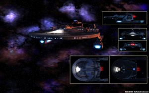 USS Exotair - Background with Detail by thypentacle