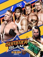 Summerslam 2014 Poster by AY by AyBenoit12