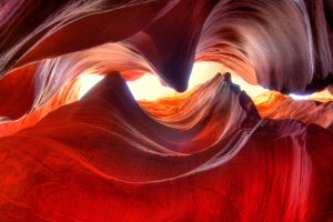 Red Cave Curves by mikewheels