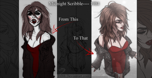 Midnight Scribble to 1984 -This to That- by DJ88