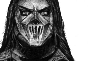 Mick Thomson by sh0veit