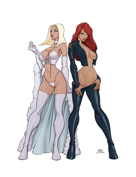 Emma/Jean: Rival Queens by Chadwick-J-Coleman