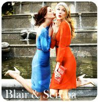 Blair and Serena by Emeeliie