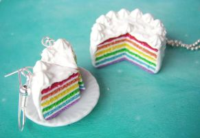 Rainbow cake by mmagda