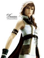 lightning Dissidia render.png by demeters
