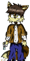 Waylon the fox by Miles-The-Sniper