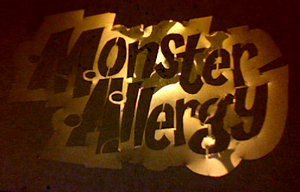 Monster Allergy Logo Stencil by midori-no-ink