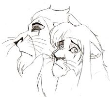 He Lives in You... -sketch- by Artemysia