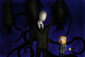 Me and Slenderman by Kalix5
