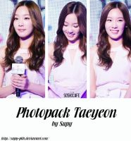 Photopack Taeyeon by Supy-phh
