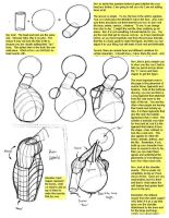 Figure Tutorial: Head-Shoulder by Fenris2Lupin