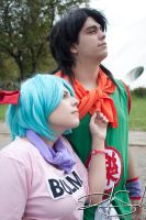 Yamcha and Bulma by RobinYume