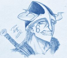 Viking Grimmjow by ravefirell