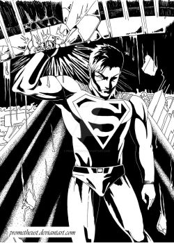 Superman by prometheust