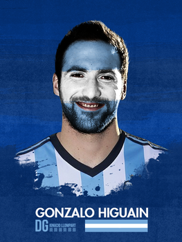 Higuain Poster World Cup by ignaxxx