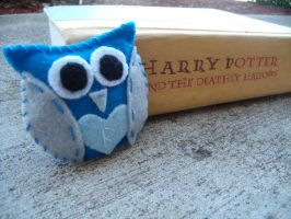 Harry Potter Owl Plush by Muffinseatfood
