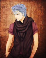BLEACH:Grimmjow 24012013 by sylwiaiiwo