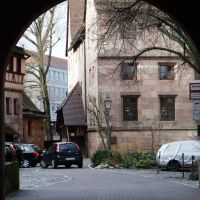 Entrance to the former Hospital by andersvolker