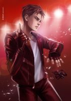 Welcome to the Madness - Otabek by LeorenArt