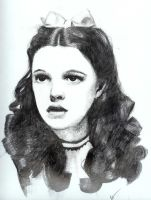 "Judy Garland ""Dorothy"" by nosprouts"
