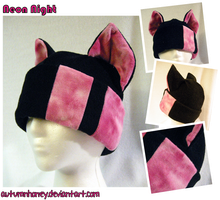 Kitty Cat Hat - PINK by AutumnHoney