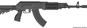 Tactical AK-47 by Superman999
