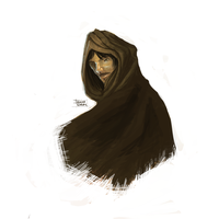 Quickie: A Hooded Man by Khalo