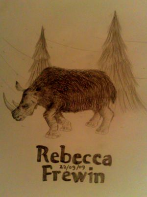 Post Your Latest Woolly_Rhinoceros_by_Rebecca1208