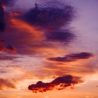 Clouds at sunset by LorenzoDiFolco
