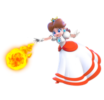 Fire Princess Daisy by CaitlinTheStarGirl