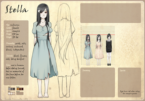 Reference Sheet: Stella by raru-tan