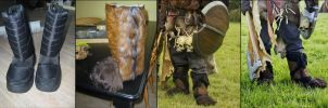 Barbarian Boots by Hellwolve