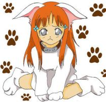Neko Orihime -coloured by Bleach-Lovers