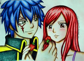 Jellal x Erza by angelwithoutsoul89