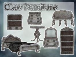 Claw Furniture by zememz