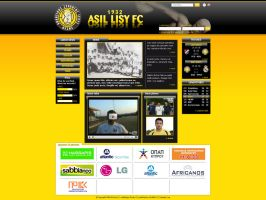 Asil Lisy FC website by plechi