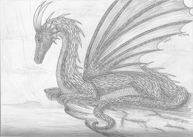 Guardian Dragon by Nephilimist