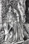 The Lord and Lady of the Woods by amuletts