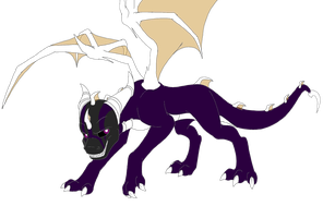 Spyro, Vizard form by DarkAngelAW1986