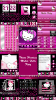 Hello Kitty Theme for PPC by LadyPinkilicious