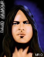 David Gilmour by birdmach