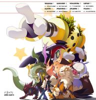 PM BW2 My team~ by EstherpekahAbelsaul