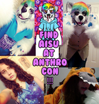 how to find aisu at anthrocon 2014 by aisu-isme