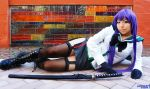 Saeko Cosplay from High School of the Dead by Oniakako