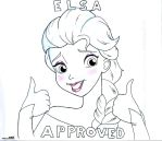 Elsa Approved Meme by Anime-Ray