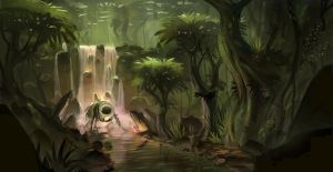 Jungle world by syncUP