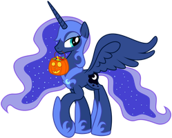 Princess Luna - Nightmare Night Costume by Kyss.S by KyssS90