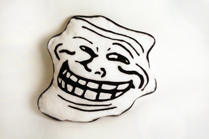 TrollFace Plushie by abcdennis