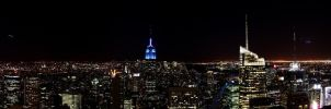 NY - top of the rock - Pano by TiKy2010